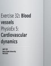 lab 33b cardiovascular dynamics Physioex activity 5 of exercise 5exercise 5: cardiovascular dynamics: activity 5: studying the effect of blood vessel radius on pump activity lab report pre-lab quiz results you scored 80% by answering 4 out of 5 questions correctly.