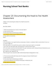 Chapter 23 Documenting the Head to Toe Health Assessment.pdf