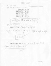 Exam 2 EET 2544  Fall-07_solution