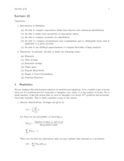Stirling Approximation Notes
