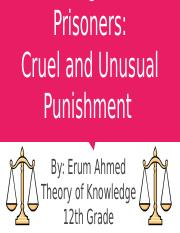 The Rights of Prisoners_ Cruel and Unusual Punishment.pptx