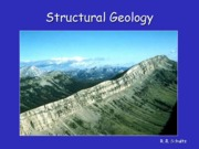 ERTH 3140 General introduction to Structural Geology