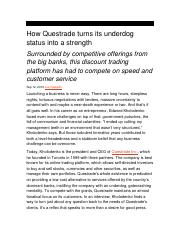 How Questrade turns its underdog status into a strength.docx