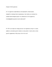 Chapter 9 EOC questions