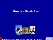 Lecture 2- Exercise Metabolism(1)