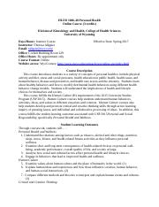 HLED 1006-41 Course Syllabus-Spring 2017.docx