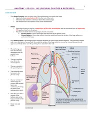 Anatomy – Lungs from GAS Pg. 159 – 175 - BL