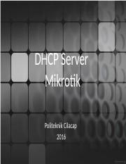 Modul 8-2 -DHCP Server II.pptx