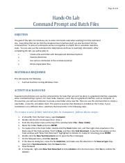1.Hands-On Lab - Command Prompt and Batch Files.pdf