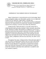 OVERVIEW OF THE CURRENT STATE OF TECHNOLOGY.docx