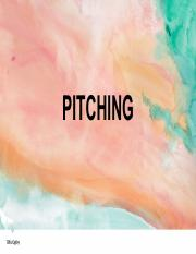 [Tomorrow Marketers] Pitching.pdf