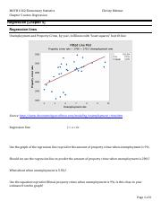 Notes Ch 5 Regression