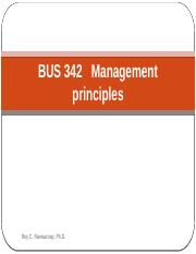 BUS 342 Chapter 1 N