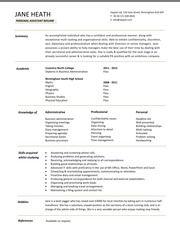 personal_assistant_resume_template