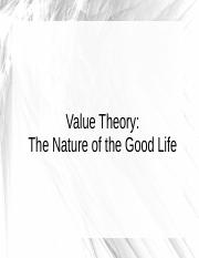 Value Theory.ppt