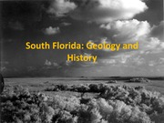 Florida History and Geology