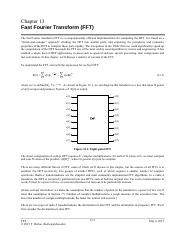 Chapter 13 Fast Fourier Transform
