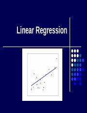 Chap 8 - Linear Regression.pptx