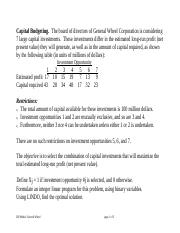 ILP_Capital_Budgeting