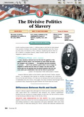 Ch. 10 section 1 Divisive Politics of Slavery