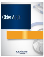 NUB 210_Older Adult