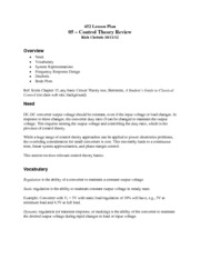 05 - Control Theory Review