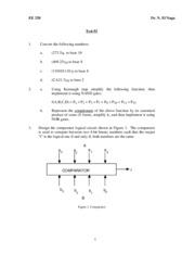 ECE 320 Practice test 1 2 3 and final