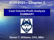 Acct2101_STW_Chapter7_CVP_Analysis-Summary-HuskyCT Version