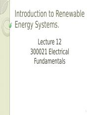 Lecture 12 Introduction to Renewable Energy Systems 4(1)