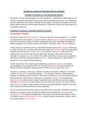 Chapter 8 Lesson 5 The Byzantine Empire Eastern Roman Empire And Justinian When Course Hero