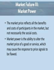 Essential of Economics Chapter 9 - Market Power Power Point