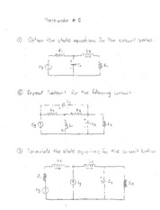 ELEN 211 HW5- state equations problems