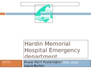 Hardin Memorial Hospital Emergency department