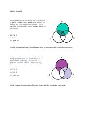 PHIL 114 Use Venn Diagram to Test Validity