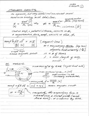 Lecture 6 - Magnetic Circuits