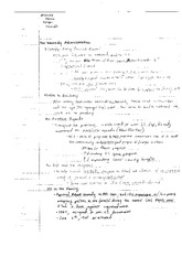 Kennedy Administration Notes