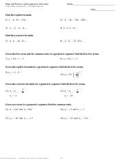 Math 442 Practice with sequences and series - .pdf