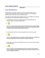 hcr 210 career self reflection ii Check out our top free essays on career self reflection to help you  week 7 checkpoint hcr 210 week 8 appendix f career self-reflection ii hcr 210.