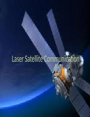 Laser Satellite Communication presentation