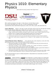 Physics Disclosure Document_2016-17