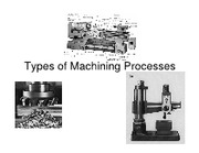 3.Types of Machining Processes