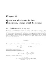 PHYS 205 Fall 2009 Chapter 6 Homework Solutions