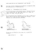 intermediate value thm & continuity-class notes