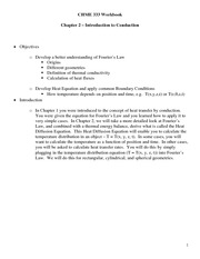 CHME 333 Workbook Handout - Chapter 2