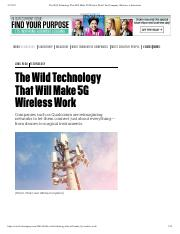 The Wild Technology That Will Make 5G Wireless Work _ Fast Company _ Business + Innovation.pdf