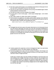 MATH 348 2014 Assignment 3 Solutions