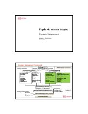 Topic 4-INTERNAL ANALYSIS