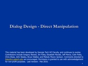 Dialog+3+-+Direct+Manipulation