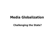 Lec 7 - Media Globalization