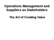 Posted - Value Creation and Suppliers as Stakeholders 2010_1
